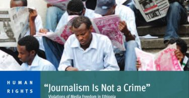 ethiopia media repression
