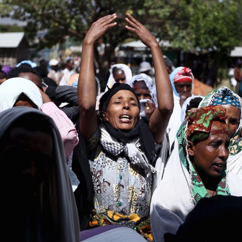 oromo mothers cry