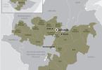 Map of Oromia via HRW