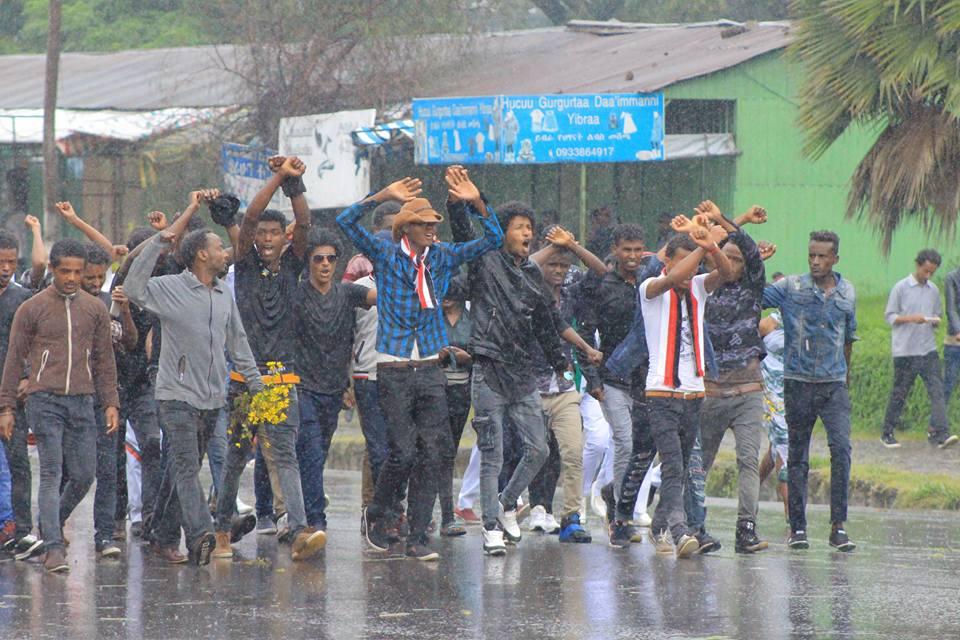 Ethiopia: Oromia hit by fresh #OromoProtests in response to state-sponsored killings